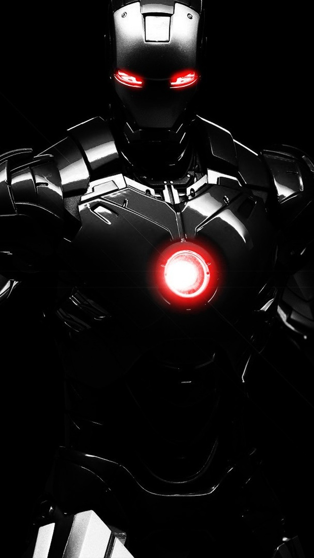 Sombre iron man iphone x 8 7 6 5 4 3gs fonds d 39 cran - Iron man 2 telecharger ...