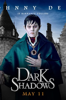 Johnny Depp dans Dark Shadows iPhone Fond d'écran Aperçu
