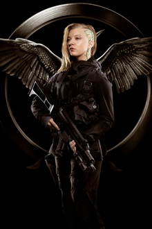 Natalie Dormer, The Hunger Games: Mockingjay, Partie 1 iPhone Fond d'écran Aperçu