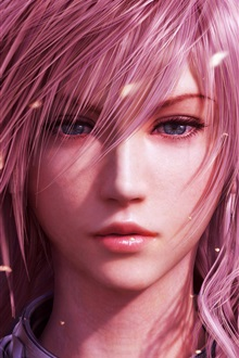 Violet fille de cheveux, Final Fantasy XIII iPhone Fond d'écran Aperçu