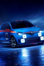 2013 Renault TwinRun concept car iPhone fonds d'écran