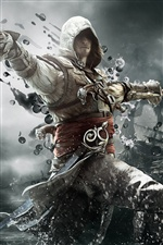2013 jeu, Assassin Creed 4: Black Flag iPhone fonds d'écran