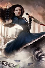 Alice: Madness Returns jeu PC iPhone fonds d'écran
