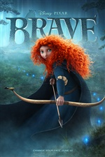 Brave 2012 affiche du film iPhone fonds d'écran