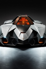 Lamborghini Egoista 2013 supercar iPhone fonds d'écran