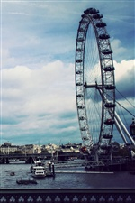 London Eye iPhone fonds d'écran