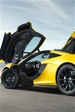 McLaren P1 supercar iPhone fonds d'écran