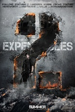 L'affiche Expendables 2 iPhone fonds d'écran