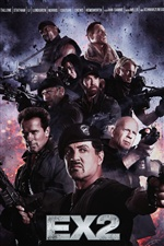 The Expendables 2 iPhone fonds d'écran