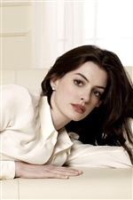 Anne Hathaway 01 iPhone fonds d'écran