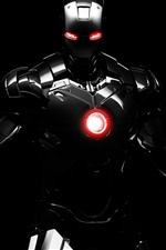 Sombre Iron Man iPhone fonds d'écran
