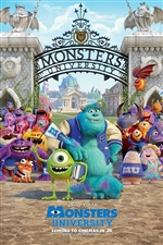 Disney film, Monsters University iPhone fonds d'écran