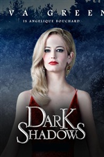 Eva Green dans Dark Shadows iPhone fonds d'écran