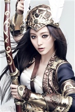 Fan Bingbing 02 iPhone fonds d'écran