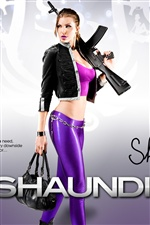 Fille dans Saints Row: The Third iPhone fonds d'écran