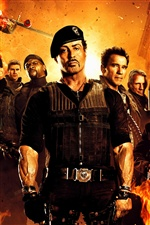 Le film Expendables 2 iPhone fonds d'écran