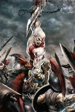 God of War 3 iPhone fonds d'écran