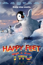 Happy Feet Two de films de bande dessinée iPhone fonds d'écran