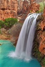 Havasu Falls, parc national du Grand Canyon en Arizona iPhone fonds d'écran