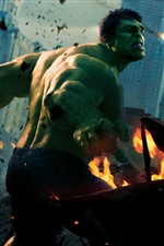 Hulk dans The Avengers iPhone fonds d'écran