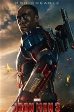 Iron Man 3, Don Cheadle iPhone fonds d'écran