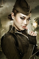 Jamie Chung dans le film Sucker Punch iPhone fonds d'écran