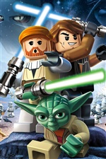 LEGO Star Wars III: The Clone Wars iPhone fonds d'écran