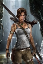 Lara Croft dans Tomb Raider 9 iPhone fonds d'écran
