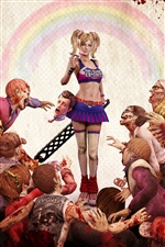 Lollipop Chainsaw jeu PC iPhone fonds d'écran