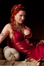 Lucy Lawless dans Spartacus: Blood and Sand iPhone fonds d'écran