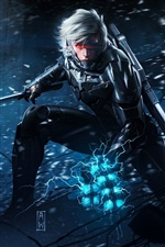 Metal Gear Rising: iPhone fonds d'écran