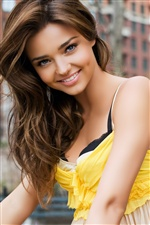 Miranda Kerr 02 iPhone fonds d'écran