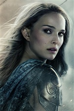 Natalie Portman dans Thor: The Dark World iPhone fonds d'écran