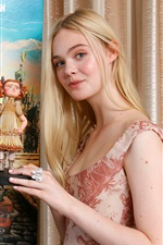 Elle Fanning 01 iPhone fonds d'écran