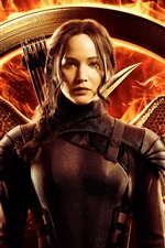 Jennifer Lawrence, The Hunger Games: Mockingjay, Partie 1 iPhone fonds d'écran