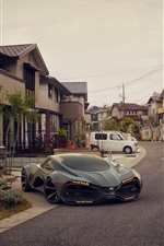 Lada Raven Concept supercar 2014 iPhone fonds d'écran