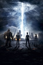 Fantastic Four 2015 iPhone fonds d'écran