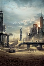 Maze Runner: The Trials Scorch iPhone fonds d'écran