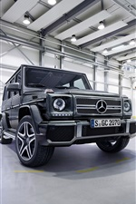 2 015 voitures Mercedes-Benz AMG G63 SUV iPhone fonds d'écran