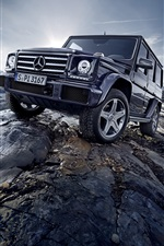 2 015 voitures Mercedes-Benz G500 W463 iPhone fonds d'écran