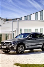2 015 Mercedes-Benz 350 GLC voiture iPhone fonds d'écran