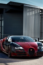Bugatti Veyron Grand Sport Vitesse supercar iPhone fonds d'écran