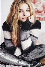 Chloë Grace Moretz 03 iPhone fonds d'écran