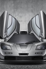 McLaren F1 GT supercar, ailes iPhone fonds d'écran