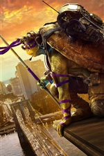 2016 film, Teenage Mutant Ninja Turtles 2 iPhone fonds d'écran