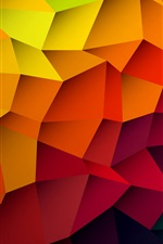 Abstract pattern, le style d'orange iPhone fonds d'écran