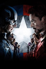 Captain America: Civil War iPhone fonds d'écran