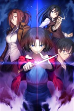 Kara no Kyoukai, anime japonais iPhone fonds d'écran