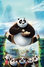 Kung Fu Panda 3 iPhone fonds d'écran