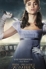 Pride and Prejudice and Zombies 2016 iPhone fonds d'écran